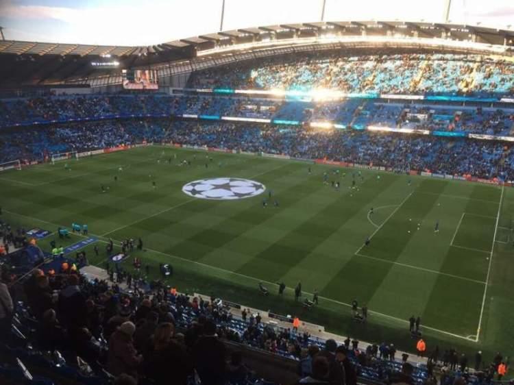 Etihad Stadium (Manchester), section 323, home of ...
