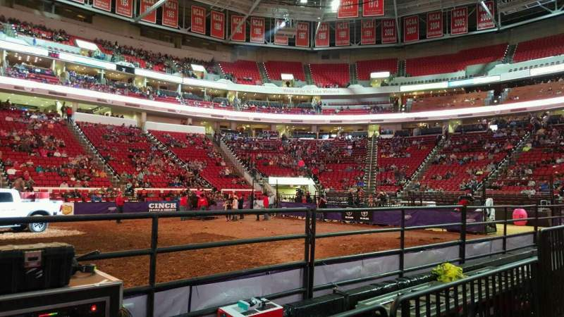 Pnc Arena Section 104 Home Of Carolina Hurricanes North