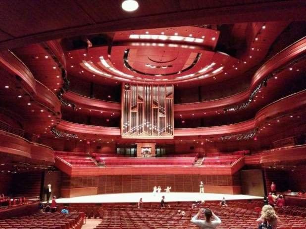 Verizon Hall At The Kimmel Center Section Tier 3 Row A Seat 133 Philly Pops Lenny S Revolution Shared By Juniper