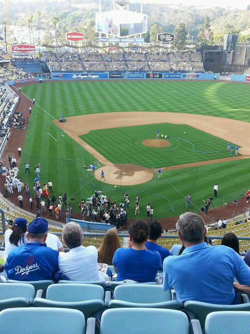 Dodgers Spring Training Seating