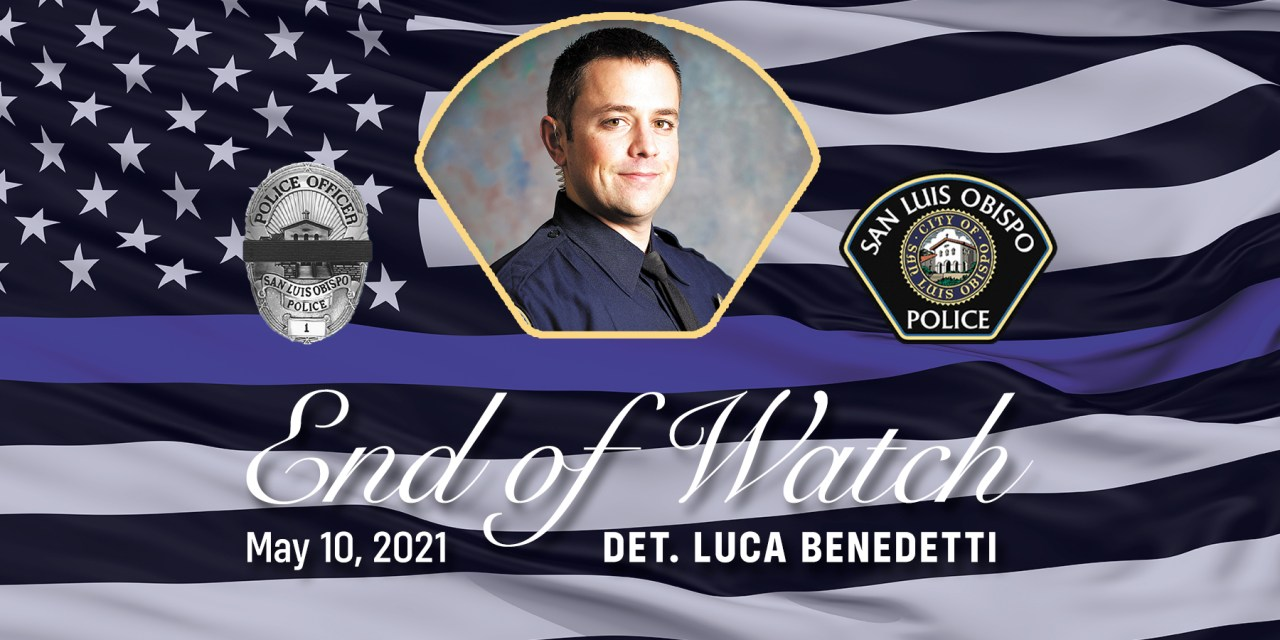 San Luis Obispo County<br>Mourns the Loss of Fallen Officer