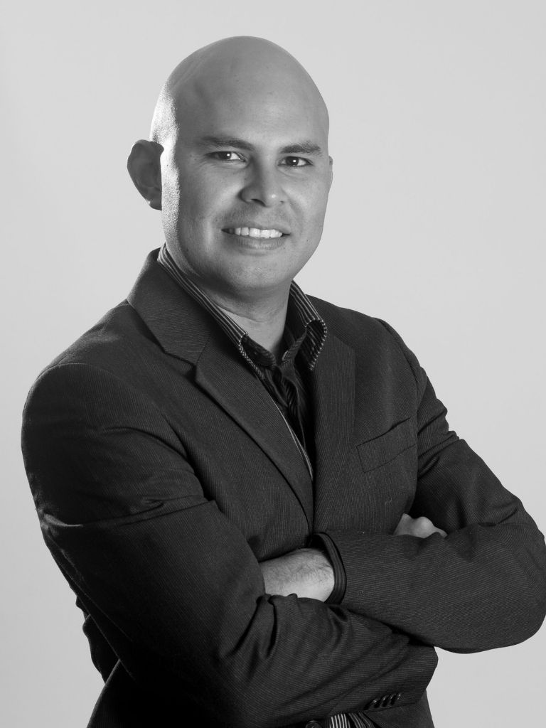 Douglas Avila posing for a professional photo