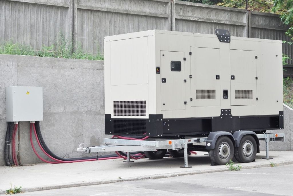 portable generator on wheels