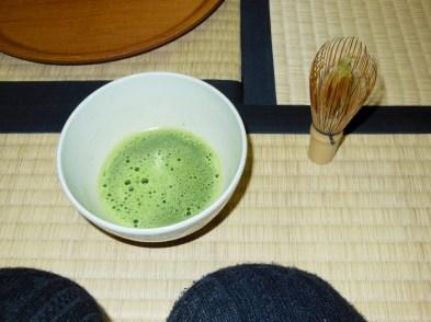 Teezeremonie Kurs an der KUFS in Kyoto