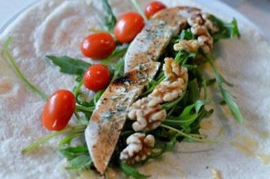 Vegane Wraps mit Flohzarella