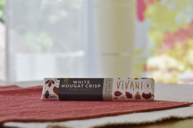 Vivani White Nougat Crisp vegan Schokoriegel