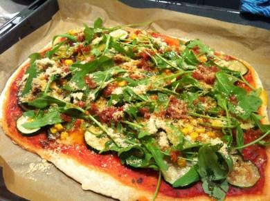 Vegan for Fun - Veggie Pizza, Attila Hildmann, vegan, recipe