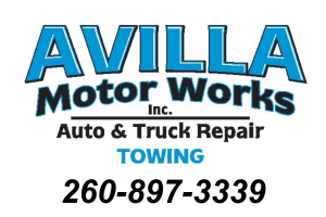 Avilla motor Works Card