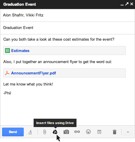 drive1 - Attach and send files upto 10GB in Gmail using Google Drive. (Update: it's live)