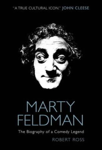 Cover of biography of Marty Feldman