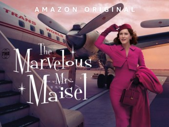 Rachel Brosnahan as the Marvelous Mrs Maisel
