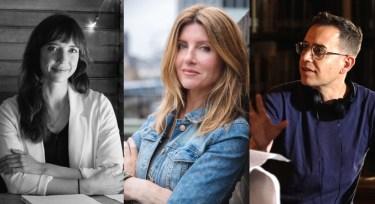 Kate Folk, Sharon Horgan and Jason Winer