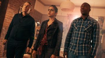 Bradley Walsh, Mandip Gill and Tosin Cole made their Doctor Who debuts in 2018