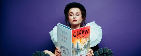 Helena Bonham-Carter narrates Quentin Blake's Clown