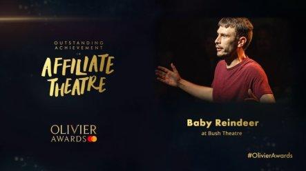 Richard Gadd;s award winning show Baby Reindeer wins Olivier Award
