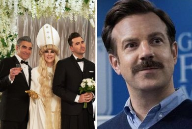 Variety predict Schitt's Creek and Ted Lasso  for Golden Globes