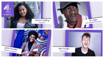 first acts selected by E4 Academy