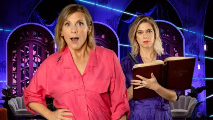 Mel Giedroyc and Lou Sanders in Unforgivable new comedy show