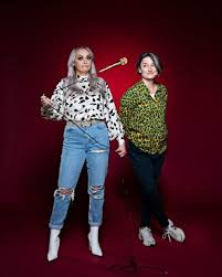 Zoe Lyons mentors Katie McGlynn in Stand-up and Deliver