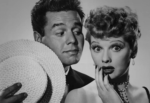 Nicole Kidman as Lucille Ball and Javier Bardem as Desi Arnaz in Being The Ricardos