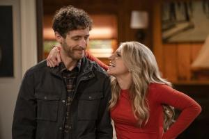 Thomas Middleditch and Annaleigh Ashford in B Positive