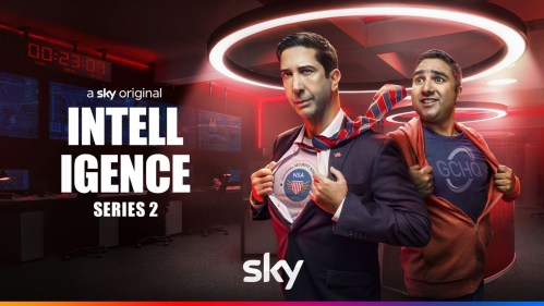 David Scwimmer and Nick Mohammed star in series 2 of Intelligence