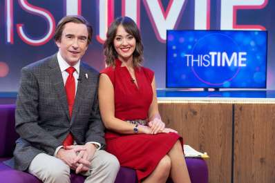 Steve Coogan and Susannah Fielding in This Time