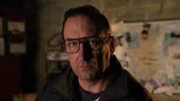 Lee Mack as the serial killer in Murder They Hope: Dales of the Unexpected