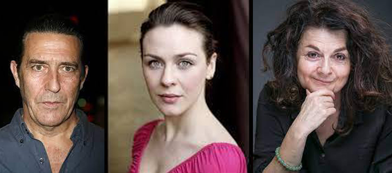 Roisin Gallagher (The Fall, Nowhere Special), Ciarán Hinds (Game of Thrones, The Terror), Pom Boyd (Vanity Fair, Frank of Ireland),