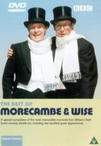 Morecambe and Wise: The Lost Tape was broadcast on the ITV Hub