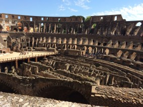 Seeing into the past in Rome.