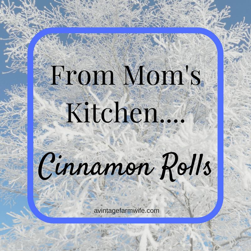 Mom's Cinnamon Rolls