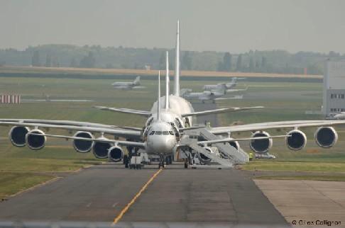 El Avión de pasajeros mas grande del mundo A380 (3/5)