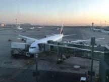 Avión en aeropuerto