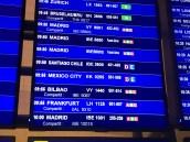 Pantalla información de vuelos aeropuerto