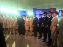 Tripulación de vuelo de Emirates