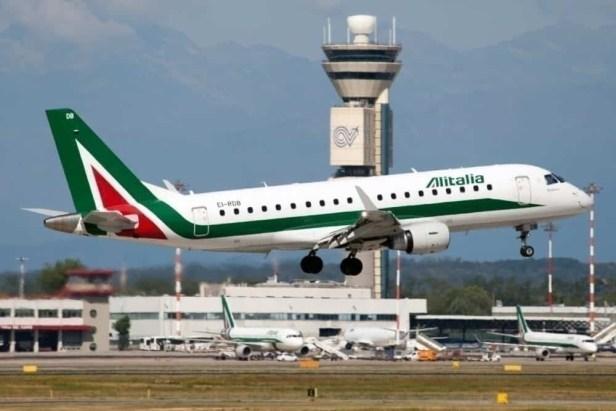 Aeropuerto de Milán-Malpensa Alitalia