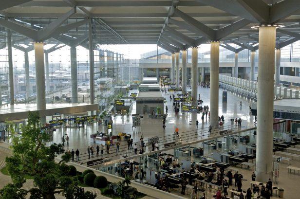 Interior Terminal 3 del Aeropuerto de Málaga-Costa del Sol