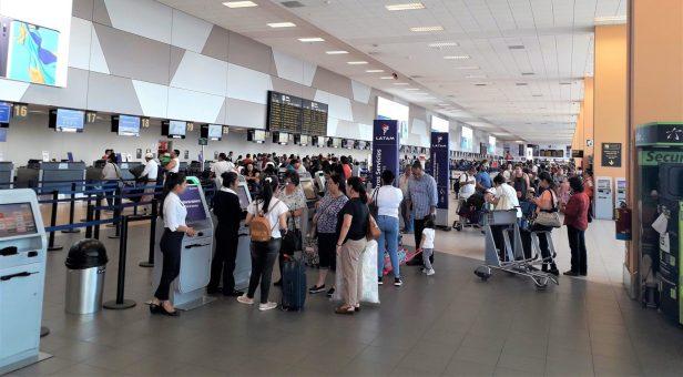 Aeropuerto de Lima en Perú