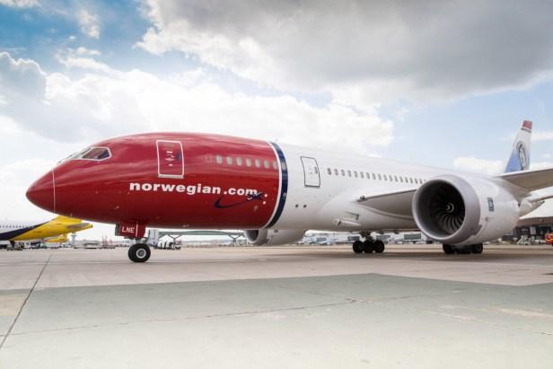 Boeing 787 de Norwegian en el Aeropuerto de Londres Gatwick (LGW)