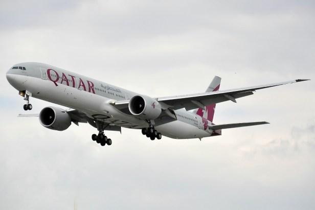 Boeing 777-300ER de Qatar Airways