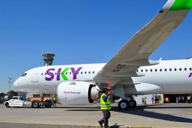 Airbus A320neo de SKY Airline Peru