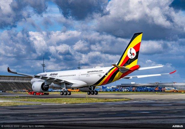 Airbus A330-800 neo de Uganda Airlines
