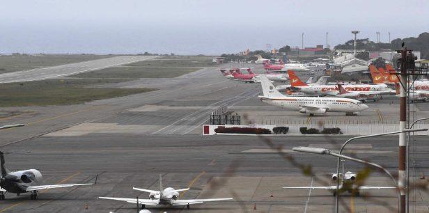 Aeropuerto Internacional Maiquetía Simón Bolívar de Caracas (CCS), en Venezuela