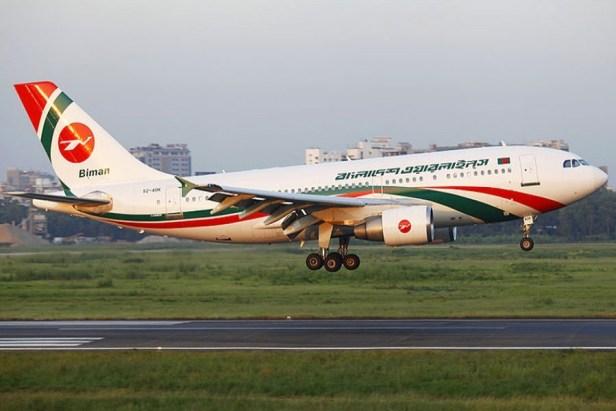 Airbus A310 de Biman Bangladesh Airlines