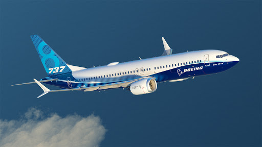 Avión Boeing 737 MAX 8