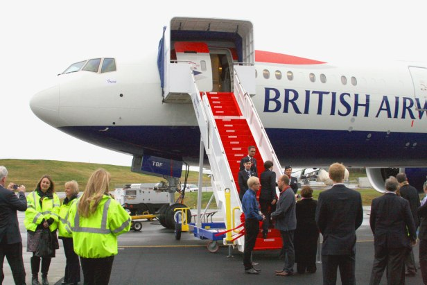 Entrega Boeing 777-300ER a British Airways