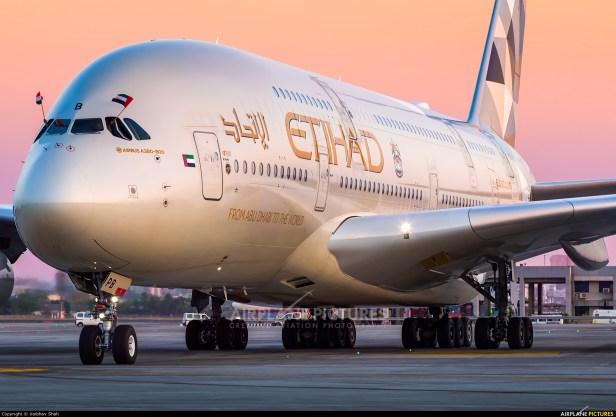 Airbus A380 de Etihad