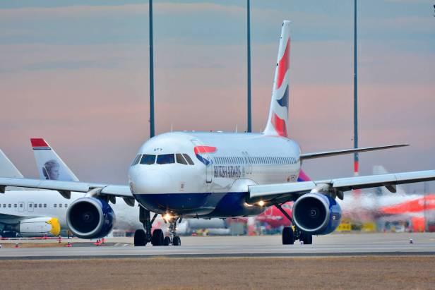 Airbus A320 de British Airways, aerolínea de IAG