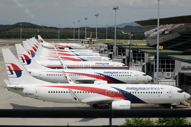 Malaysia Airlines aviones